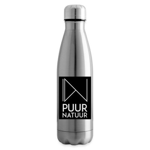 Logo puur natuur negatief - Thermosfles