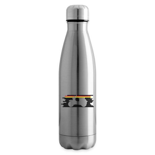 schwalbe streifen negativ - Isolierflasche