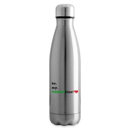 VEGANtine Green - Insulated Water Bottle