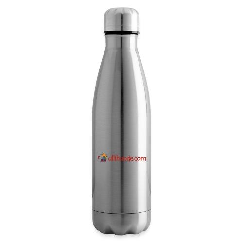 Ullihunde Schriftzug mit Logo - Isolierflasche
