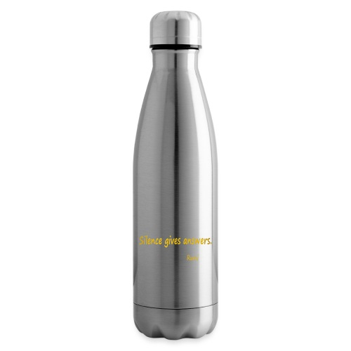 Silence - Insulated Water Bottle