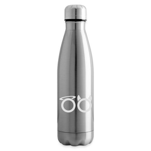 hvit svg - Insulated Water Bottle