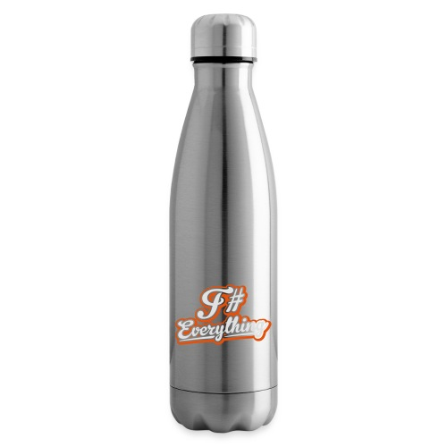 F# Everything - Insulated Water Bottle