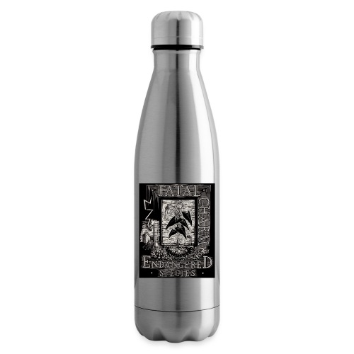 fatal charm - endangered species - Insulated Water Bottle