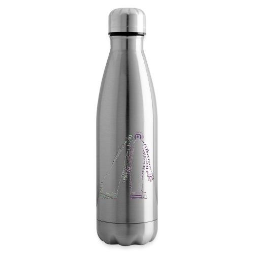fatal charm - hi logo - Insulated Water Bottle