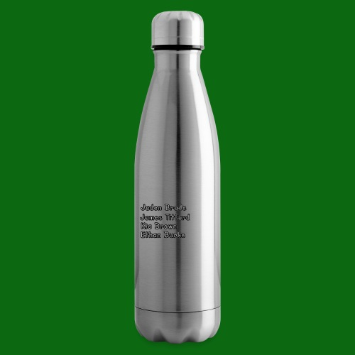 Glog names - Insulated Water Bottle
