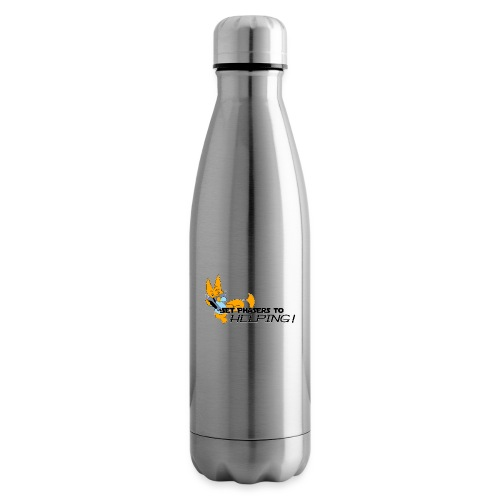 Set Phasers to Helping - Insulated Water Bottle