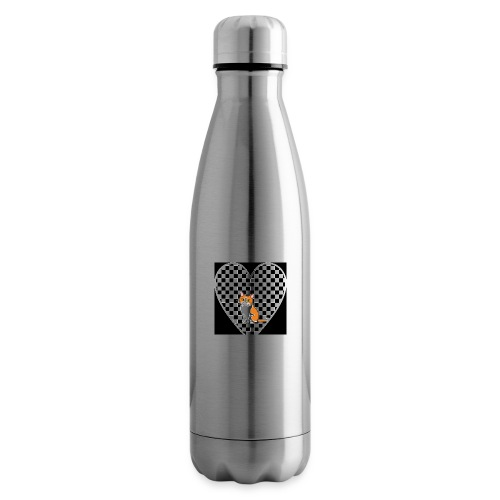 Charlie the Chess Cat - Insulated Water Bottle