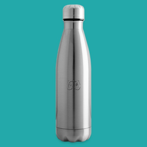 Crowd Control Logo - Insulated Water Bottle