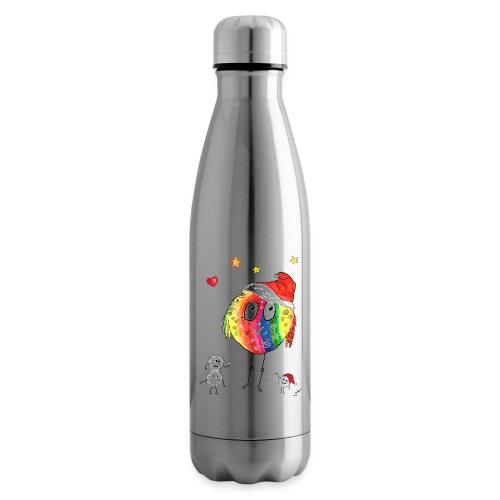 Happy Weihnachtskugelbird - Isolierflasche