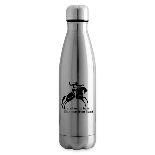 Shot in the Heart - Insulated Water Bottle