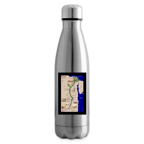 POSTER: Landkarte KEMET (Altes Ägypten) - Isolierflasche