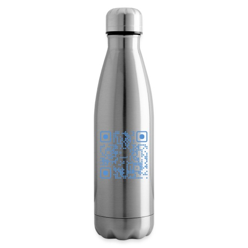 QR Maidsafe.net - Insulated Water Bottle