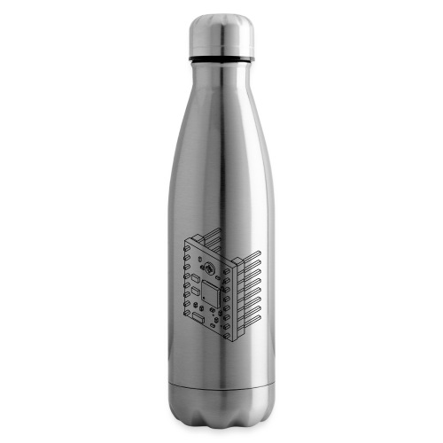 A4988 (no text). - Insulated Water Bottle