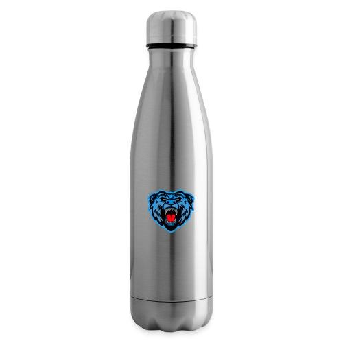 v2 logo rain - Isolert flaske