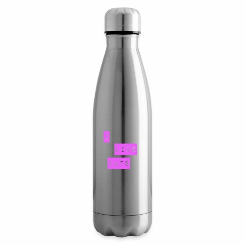 I like cats - Insulated Water Bottle