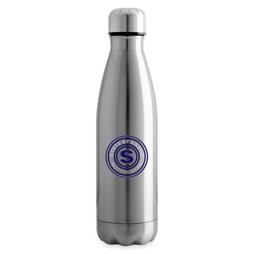 state of grace logo - Insulated Water Bottle