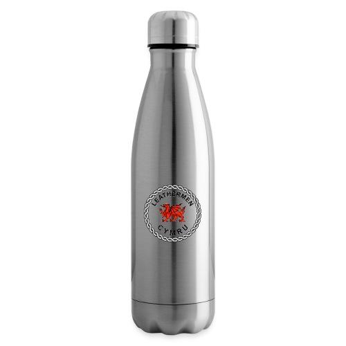 LeatherMen Cymru Logo - Insulated Water Bottle