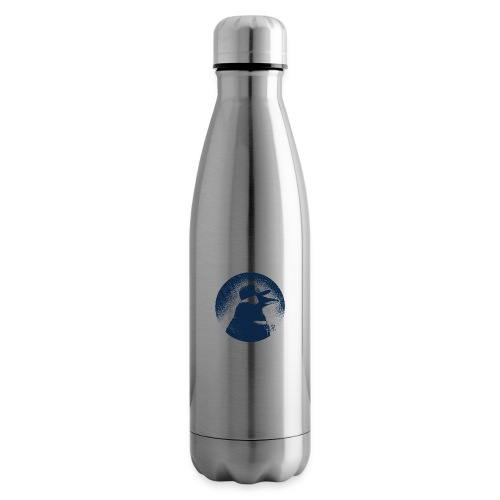 Pinguin dressed in black - Insulated Water Bottle