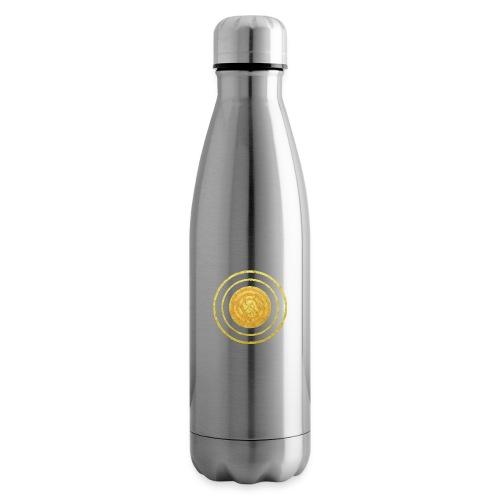 Glückssymbol Sonne - positive Schwingung - Spirale - Isolierflasche
