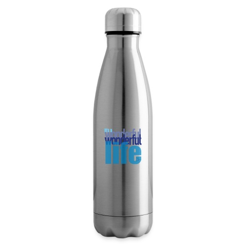 It's a wonderful life blues - Insulated Water Bottle
