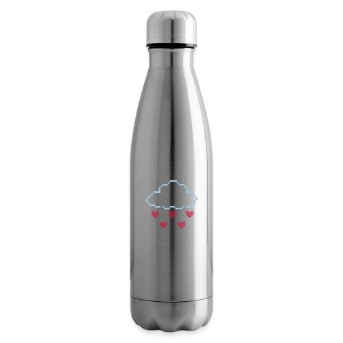 Wolke Pixelherz - Isolierflasche