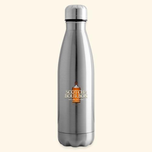 Whisky Spruch Scotch & Bourbon - Isolierflasche