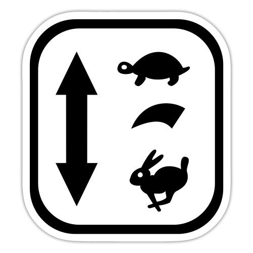 traktor schaltung - Sticker