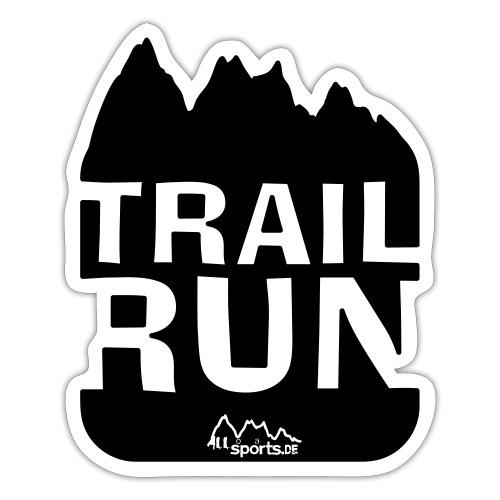 Trail Run - Sticker