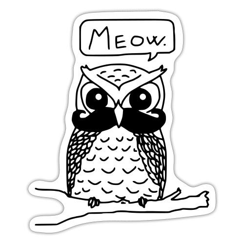 Meowl - Klistermärke