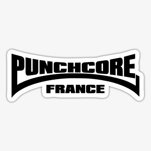 HARDSTYLE PUNCHCORE FRANCE - Autocollant