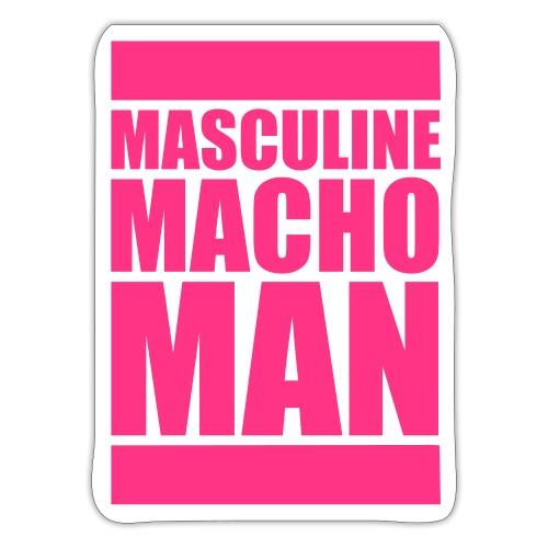 Masculine Macho Man - Klistermärke