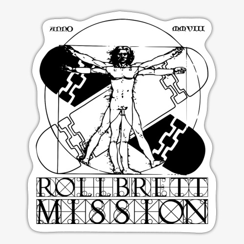 Vitruvian - Sticker