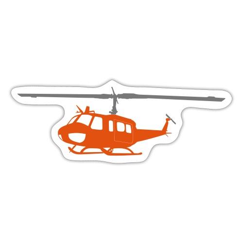 Bell UH- Orange - Sticker