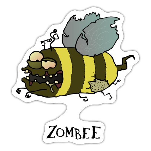 Zombee - Sticker