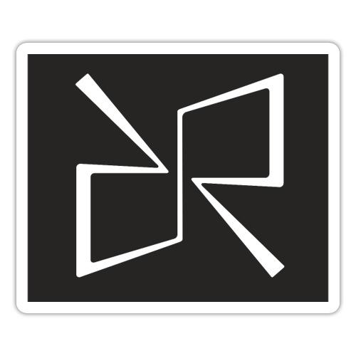 Rymdreglage logotype (RR) - Sticker