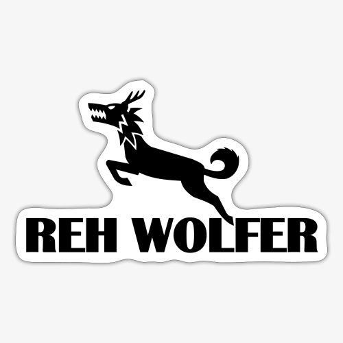 Reh Wolver - Sticker