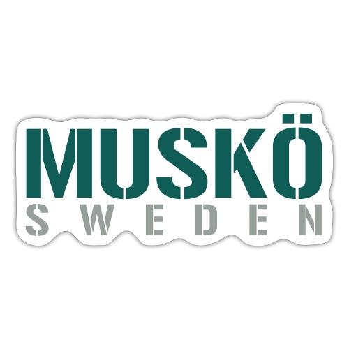 Muskö Sweden - Klistermärke
