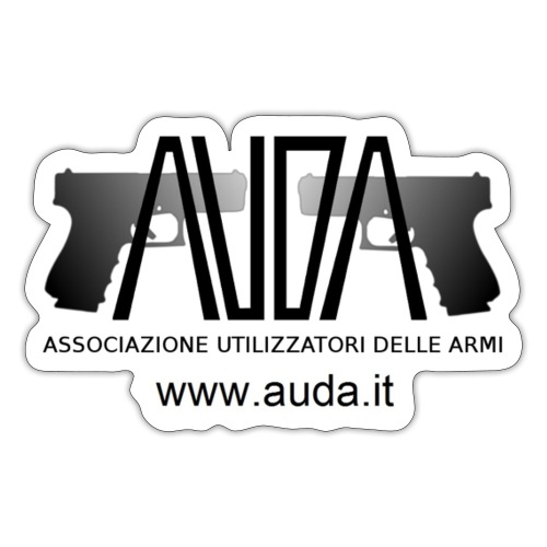 logo AUDA con 2 glock - Adesivo