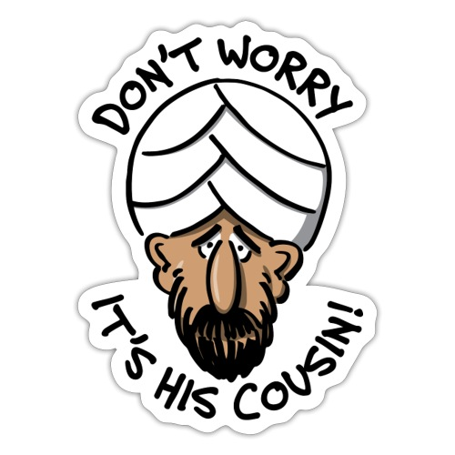 cousin - Sticker