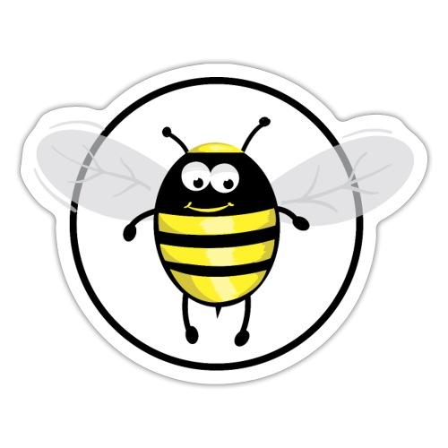 Hummelbienchen Logo - Sticker