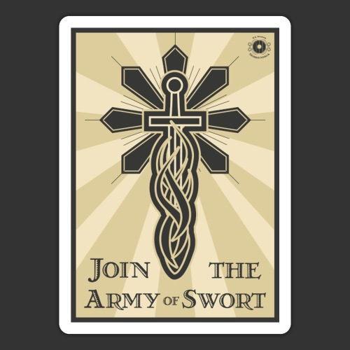 Join the army jpg - Sticker