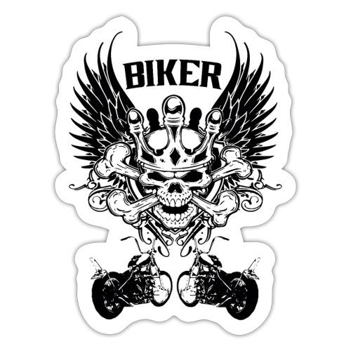 Biker - Pegatina