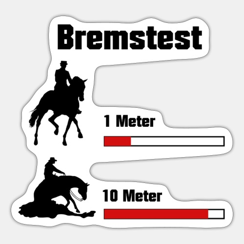 Bremstest - Sticker