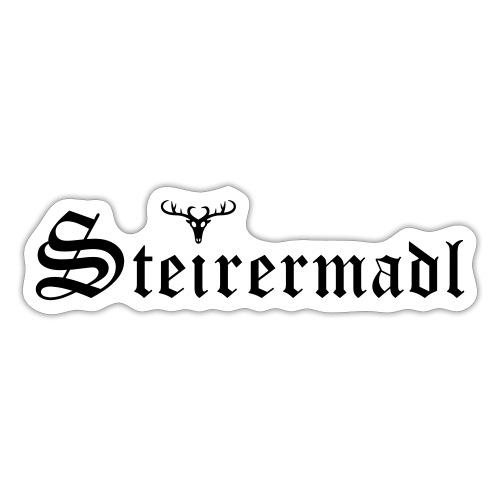 Steirermadl mit Hirsch - Sticker