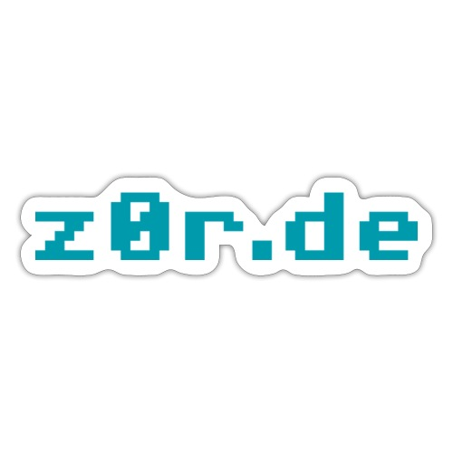 z0r Logo simple - Sticker