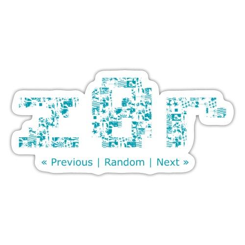 2 front - Sticker