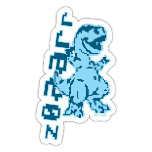 z0r Dinosaur - Sticker