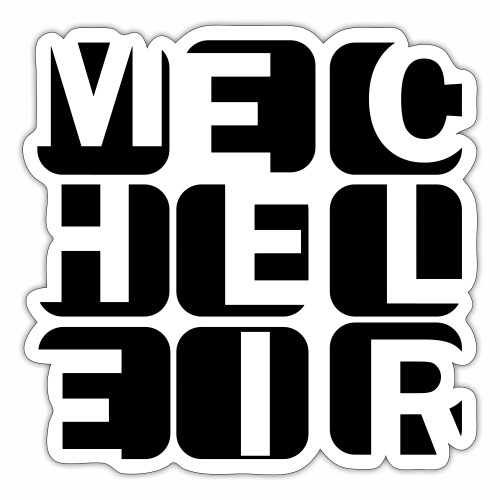 Mecheleir Cubes - Sticker