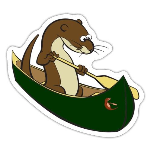 greencanoewithsticker - Sticker